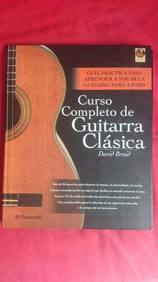 Curso completo de Guitarra Clásica + CD