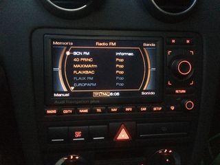 radio con Navegador audi original