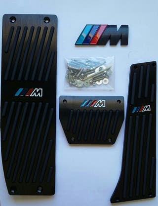 Pedales pack M automatico Negro mate