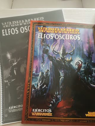 Miniaturas Warhammer (elfos oscuros)
