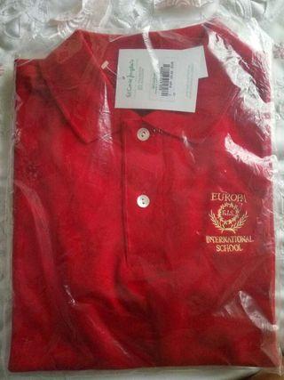 Polo Rojo Colegio Internacional Europa t.12