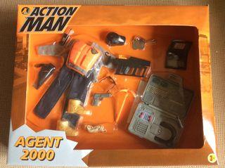 Traje Action Man Agent 2000