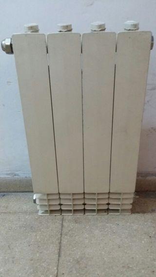Radiador de pared a gas