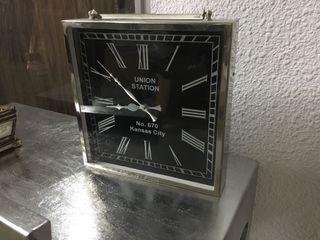Reloj acero cuadrado 30x30