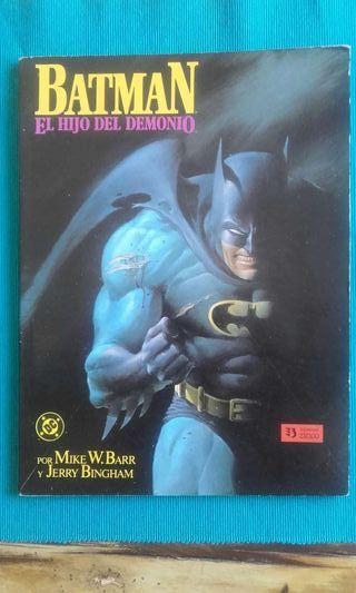 Batman El hijo del demonio