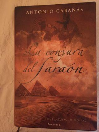 Libro La conjura del Faraón