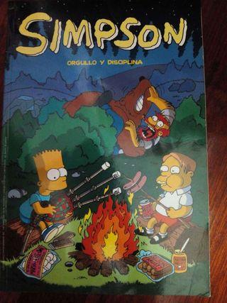 Cómic Los Simpson: orgullo y disciplina