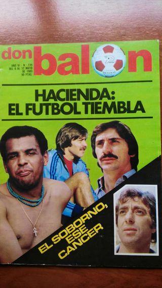 Revista don balon año 80