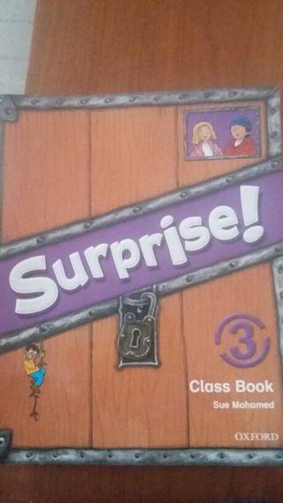 Surprise. Class book 3 de primaria..
