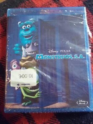 Blu ray Monstruos s.a.