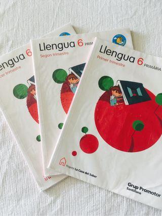 Libro Llengua 6 primaria
