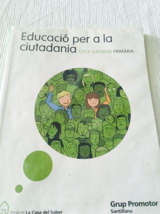 Educación per la ciudadanía.6 primaria