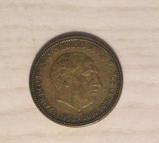 CAMBIO/VENDO. Moneda 2,50 pesetas 1953 (1956)