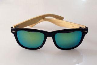 Gafas artesanales de madera