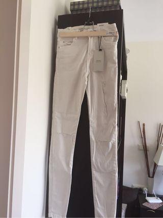 Pantalones Berksta crudo