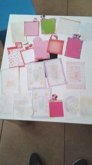 Lote de 110 cartas perfumadas