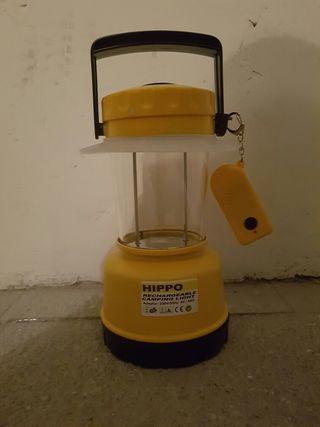 Linterna de camping (CON MANDO) sin bombilla