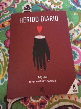 Libro Herido Diario