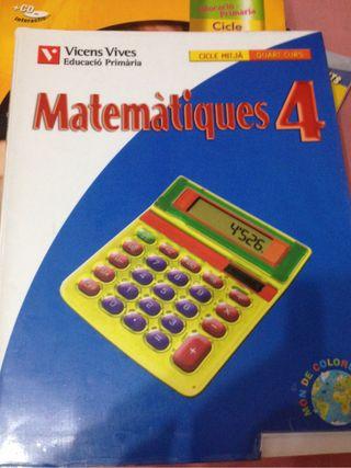 Matemàtiques 4 de primaria
