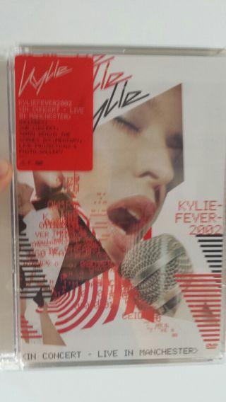 Dvd del concierto de kylie en manchester