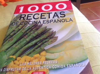 Libro Recetas Cocina Española