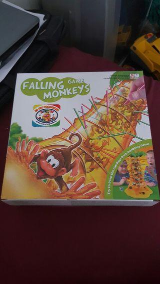 Juego falling game monkeys