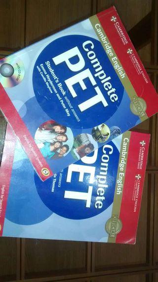 Complete PET Cambridge English como nuevo!!!!!