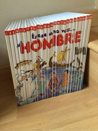 Libros. Colección ÉRASE UNA VEZ EL HOMBRE.
