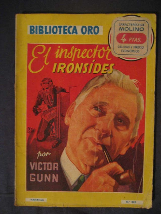 El inspector Ironsides - Serie Amarilla