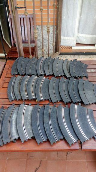 24 Curvas scalextric