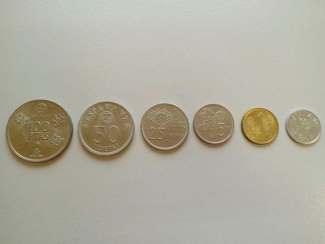 Pack monedas mundial 82