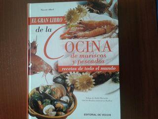 """Libro """"el gran libro de mariscos y pescados""""nuevo"""