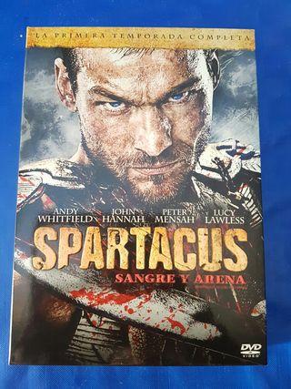 Spartacus sangre y arena dvd