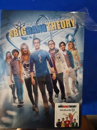 Serie big bang theory dvd