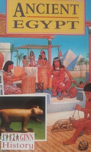 "Libro ""Ancient egypt"""