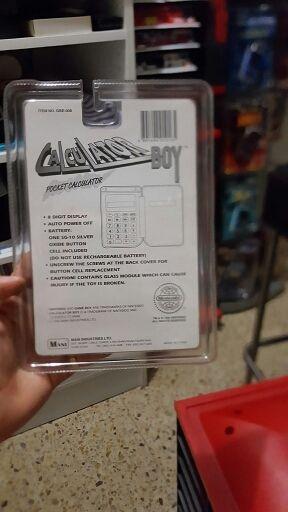 Game Boy calculadora
