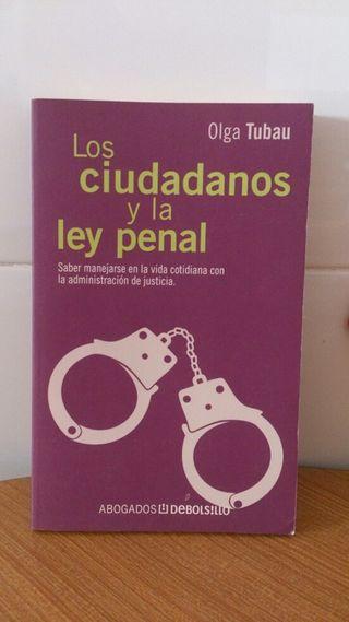 Libro. Los ciudadanos y la ley penal