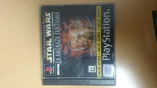 Psx PlayStation star wars episodio 1