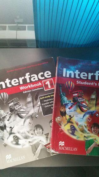 Interface booking y workbook 1 eso MC millan