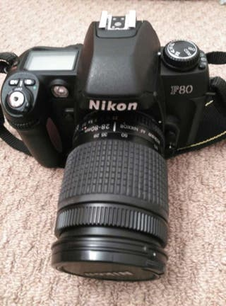 Nikon reflex analogica f80 (de carrete)