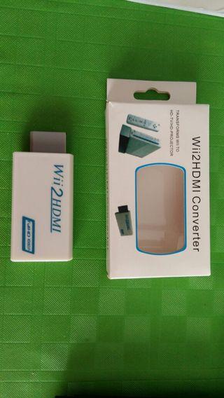 Conversor Wii Hdmi adaptador