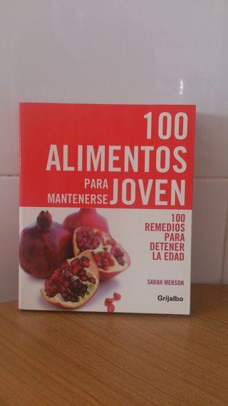 Libro. 100 Alimentos para mantenerse joven