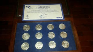 URGE VENDER Monedas de plata Centenario R. Madrid