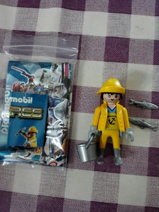 Pescador serie sobres playmobil