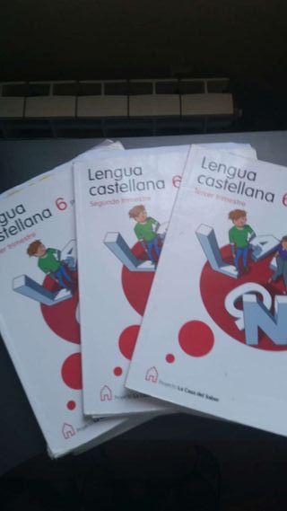 Lengua castellana 6 primaria santillana