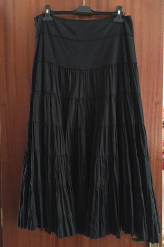Falda Ibizenca color negro