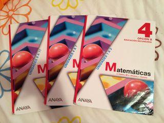 Libros escolares de matemáticas