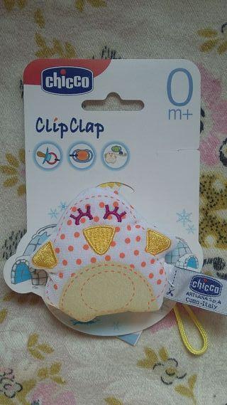 Portachupete ClipClap de Chicco (nuevo)