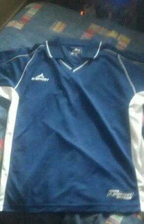 Camiseta deporte mercury talla M color azul