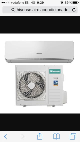 Aire acondicionado Hisense